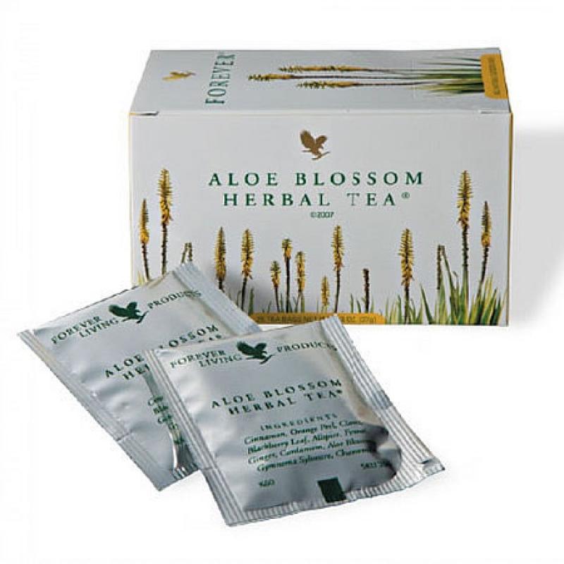 Aloe Blossom Herbal Tea