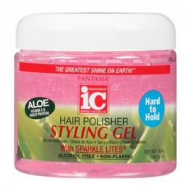 Hair Polisher Styling Gel Jar Pink